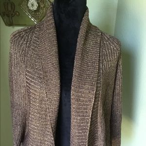 INC open front cardigan